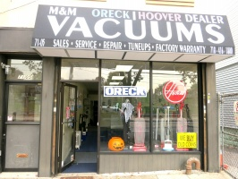 M&M Vacuums - ORECK MIELE HOOVER Vacuum Dealer & Repair, Middle Village